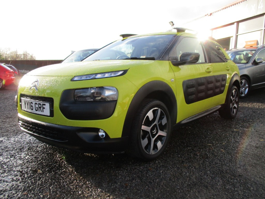 used Citroen C4 Cactus PURETECH FLAIR in torfaen