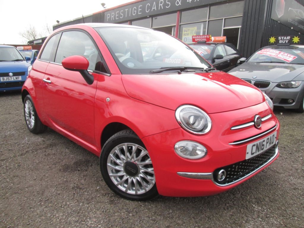used Fiat 500 LOUNGE in torfaen