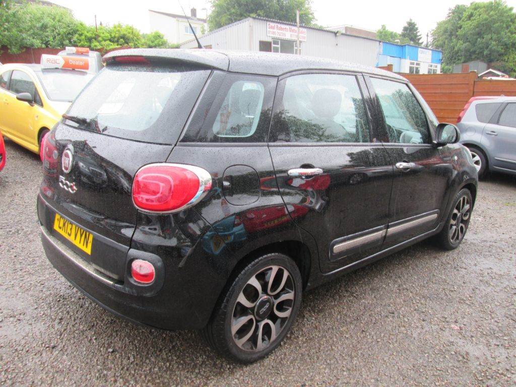 used black fiat 500l for sale torfaen. Black Bedroom Furniture Sets. Home Design Ideas