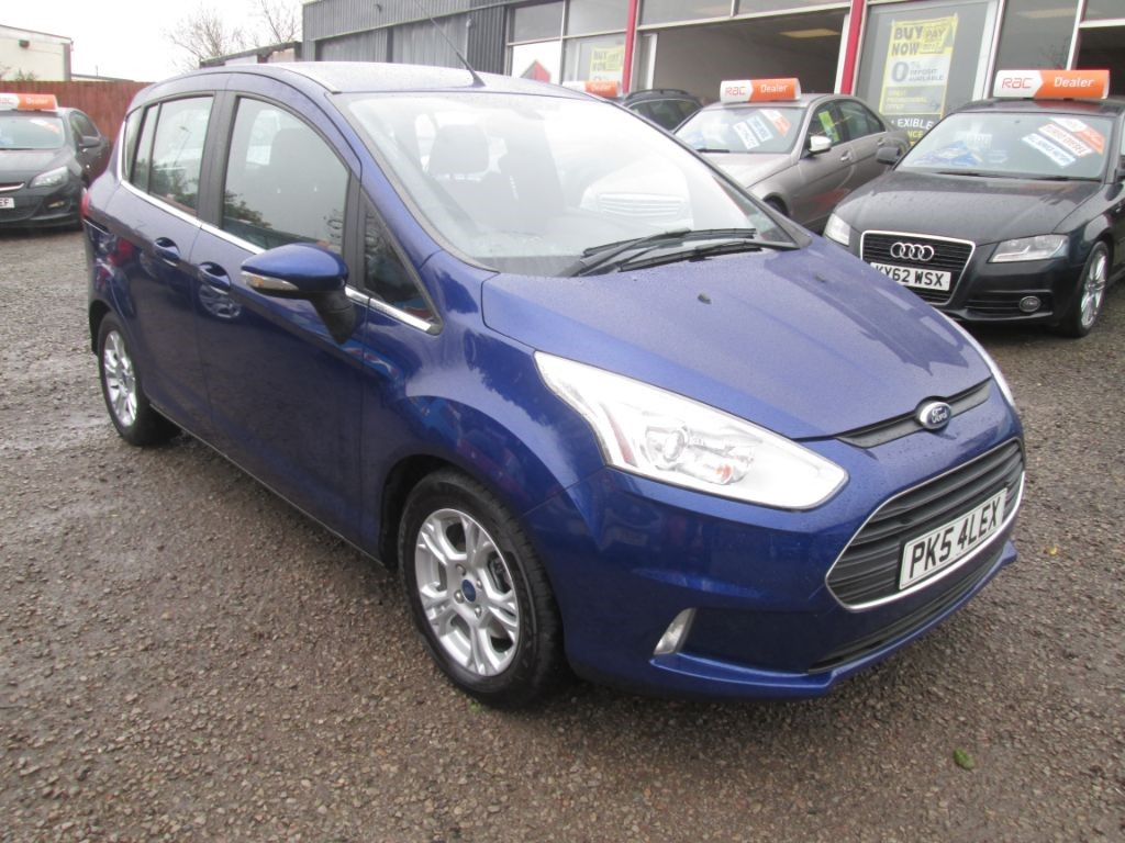 used Ford B-Max ZETEC TDCI in torfaen