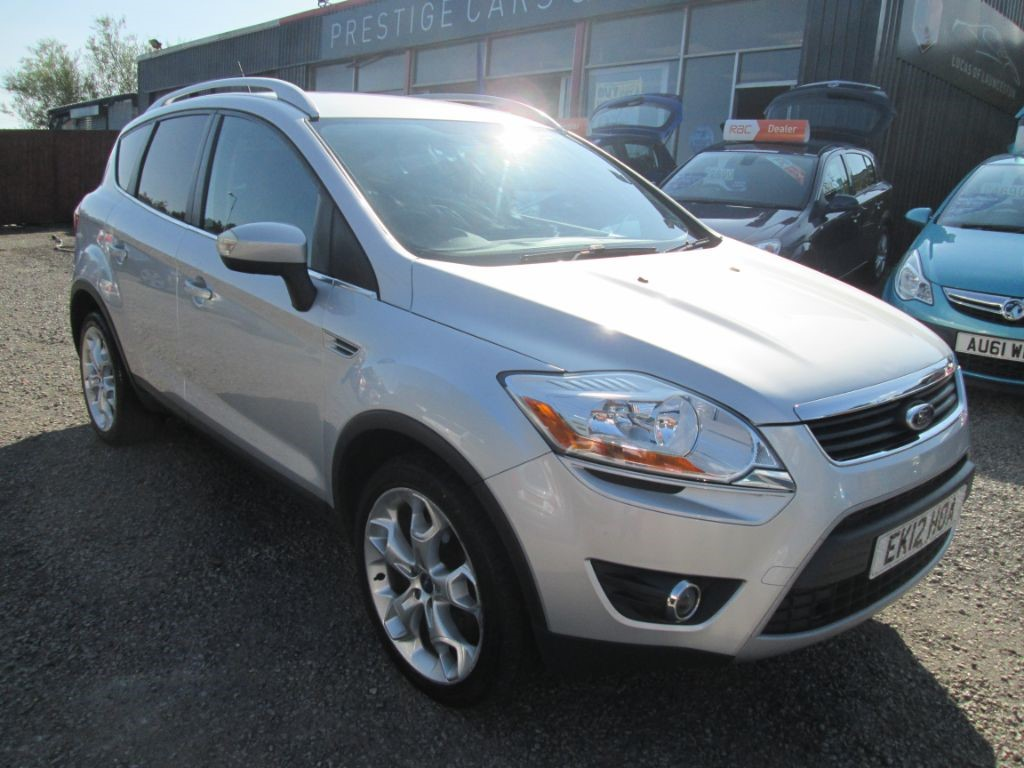 used Ford Kuga TITANIUM TDCI 2WD in torfaen