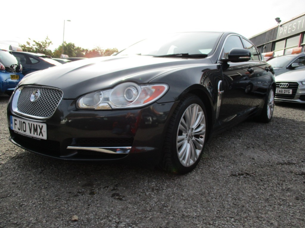 used Jaguar XF V6 PREMIUM LUXURY in torfaen