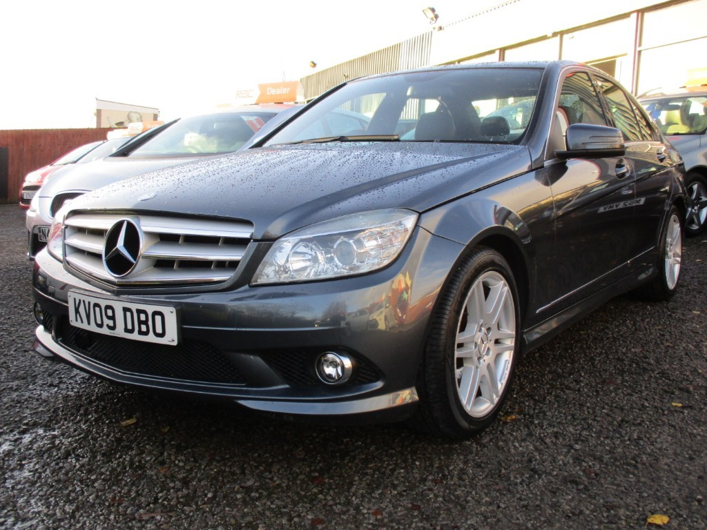 used Mercedes C220 CDI SPORT in torfaen