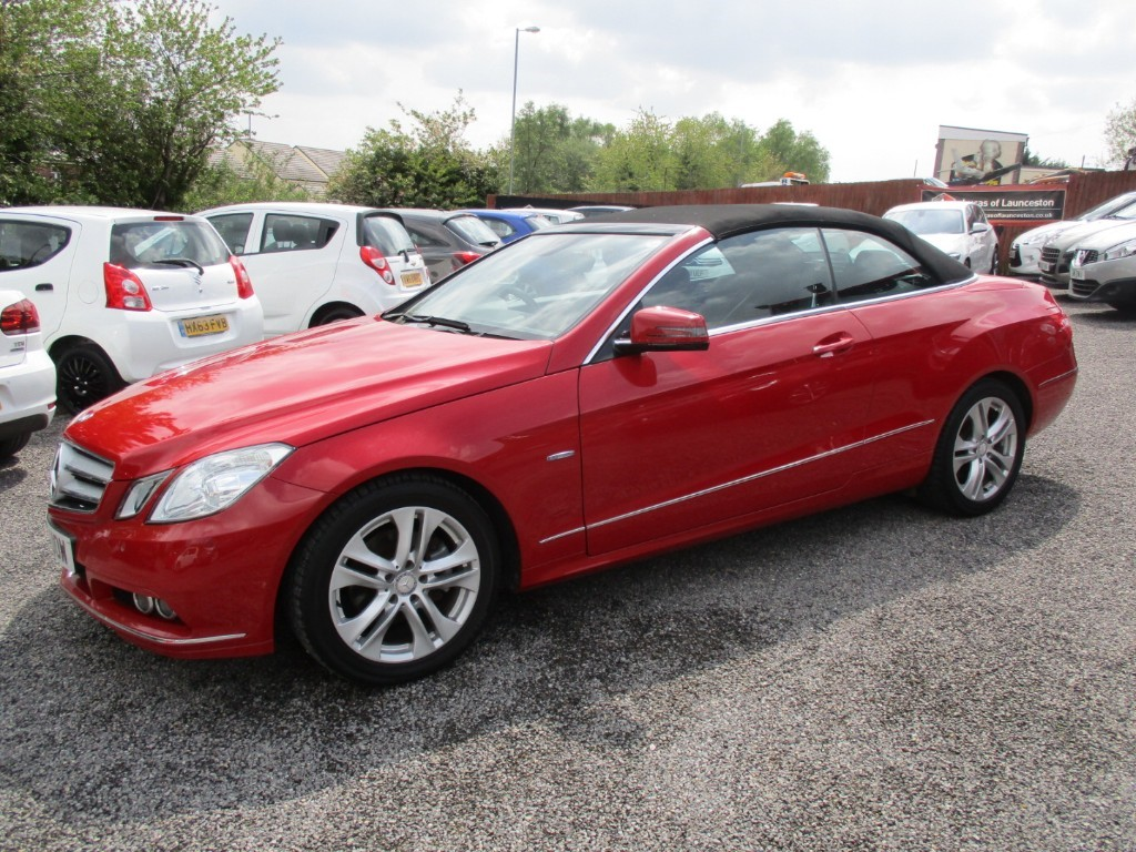 used Mercedes E200 CGI BLUEEFFICIENCY SE in torfaen