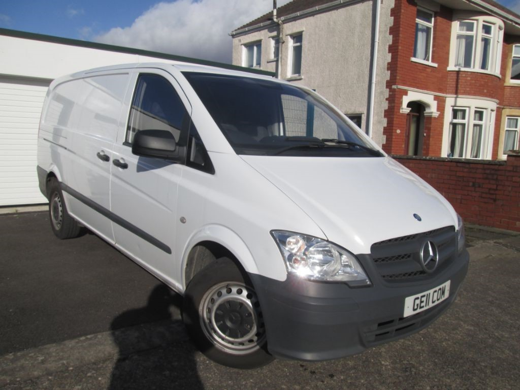 used Mercedes Vito 113 CDI in torfaen