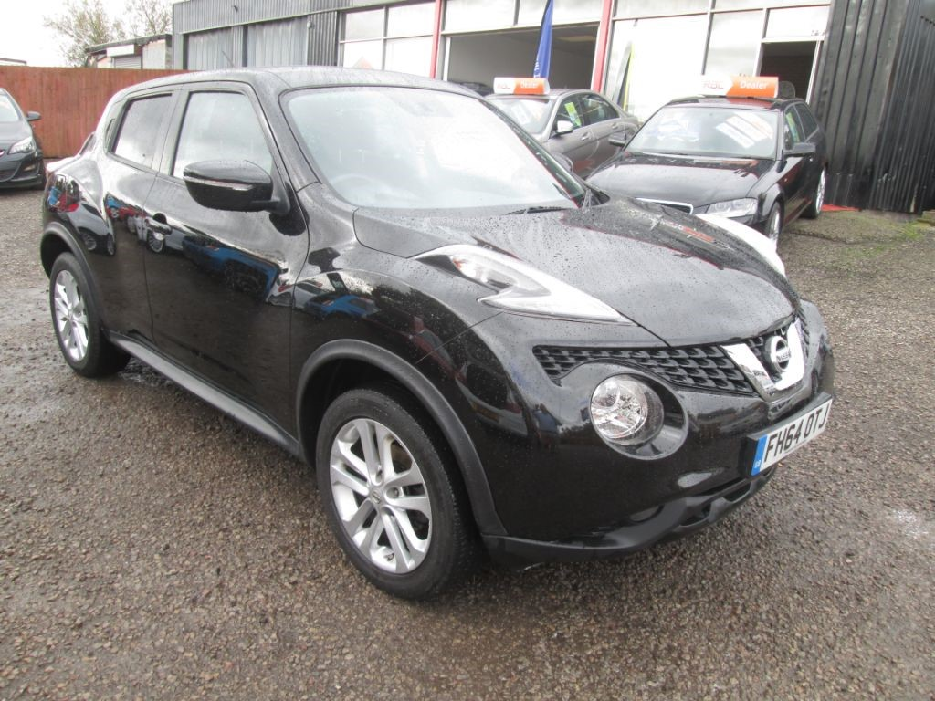 used Nissan Juke ACENTA DCI in torfaen