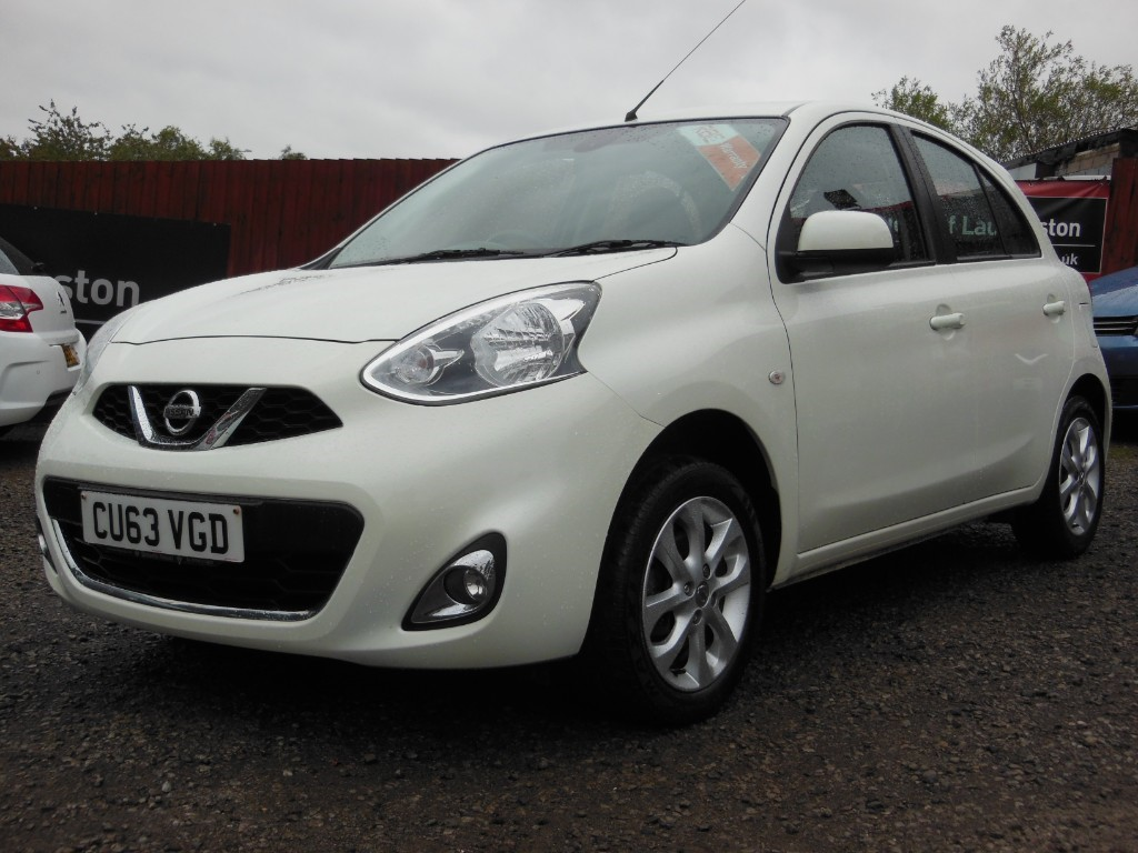 used Nissan Micra ACENTA in torfaen
