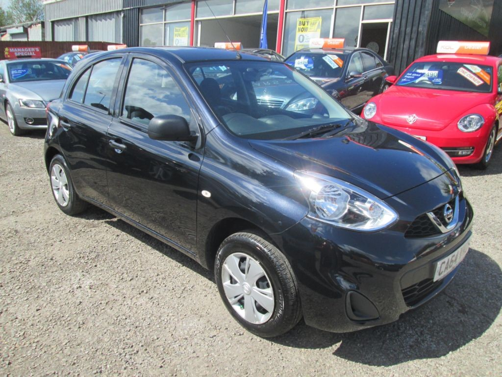 used Nissan Micra VISIA in torfaen