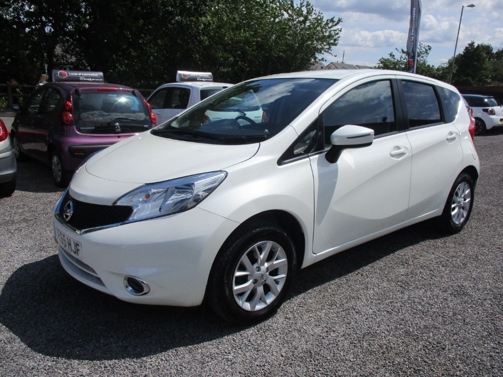 used Nissan Note ACENTA in torfaen