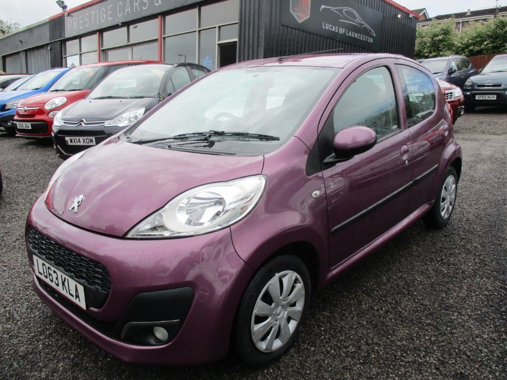 used Peugeot 107 ACTIVE in torfaen