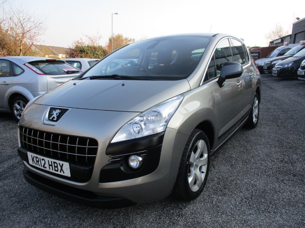 used Peugeot 3008 E-HDI ACTIVE in torfaen
