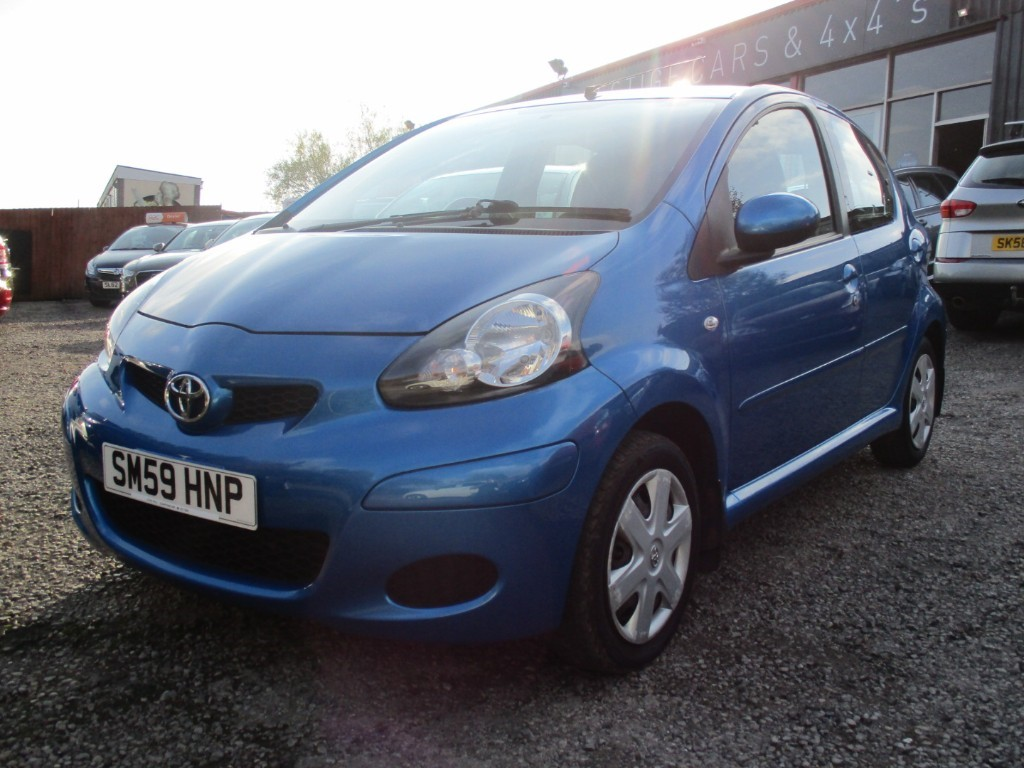 used Toyota Aygo VVT-I BLUE in torfaen