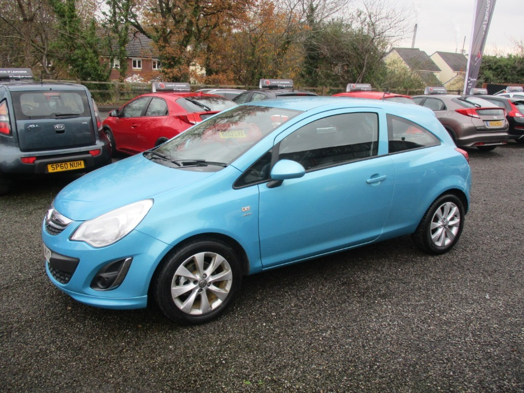 used Vauxhall Corsa ACTIVE AC in torfaen