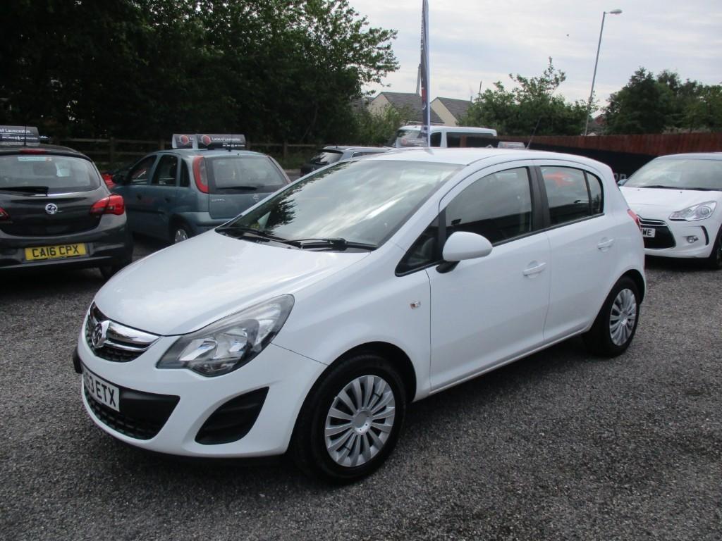 used Vauxhall Corsa EXCLUSIV AC CDTI ECOFLEX in torfaen