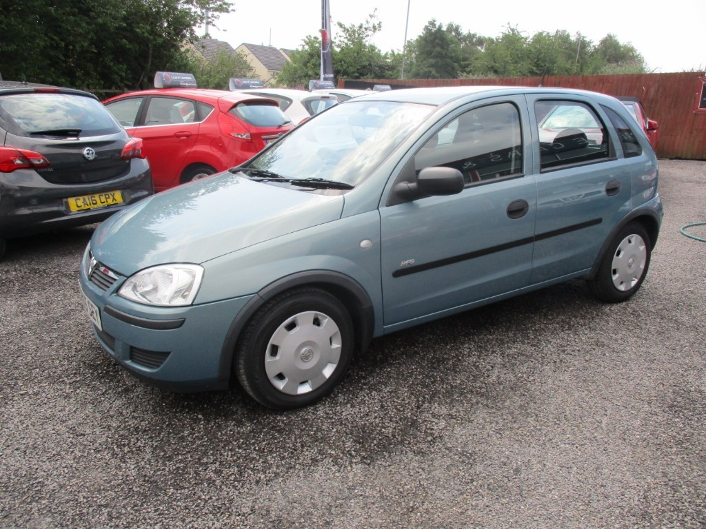 used Vauxhall Corsa LIFE 16V in torfaen