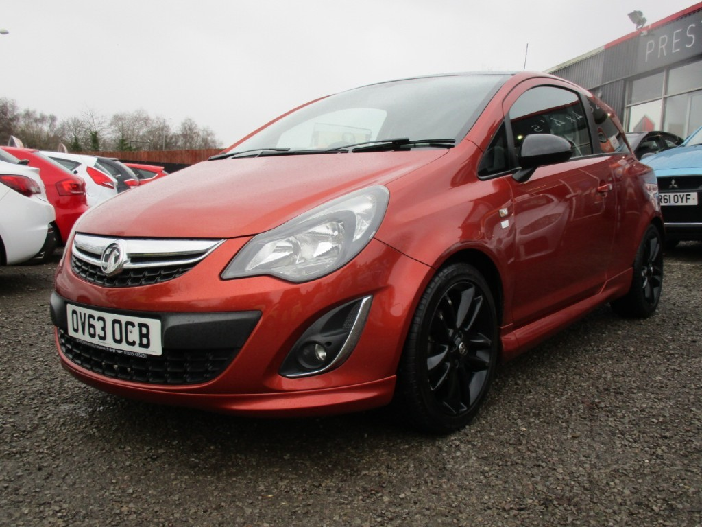 used Vauxhall Corsa LIMITED EDITION in torfaen