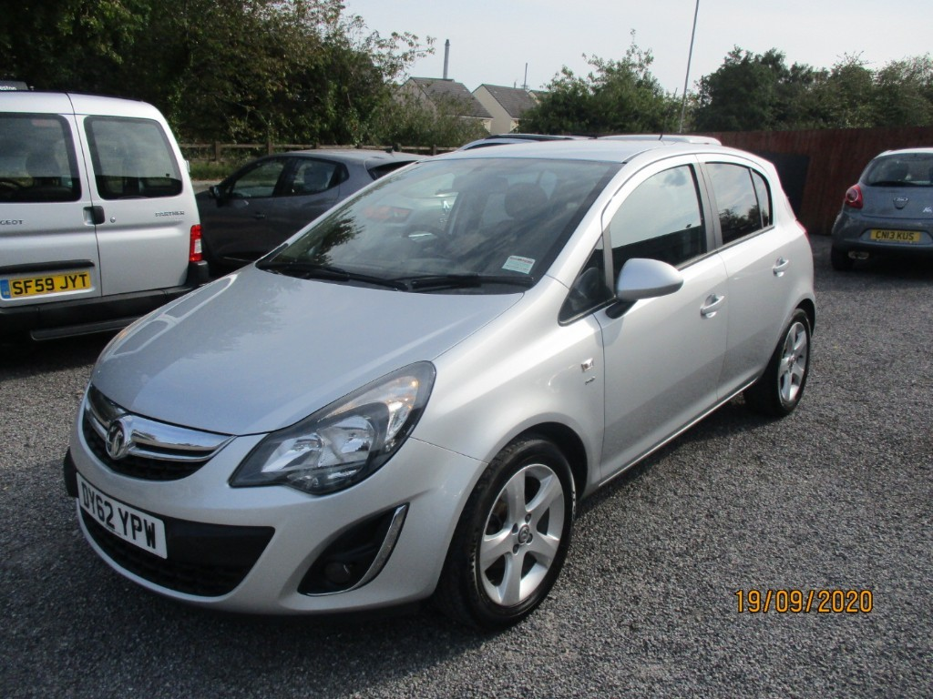 used Vauxhall Corsa SXI AC in torfaen