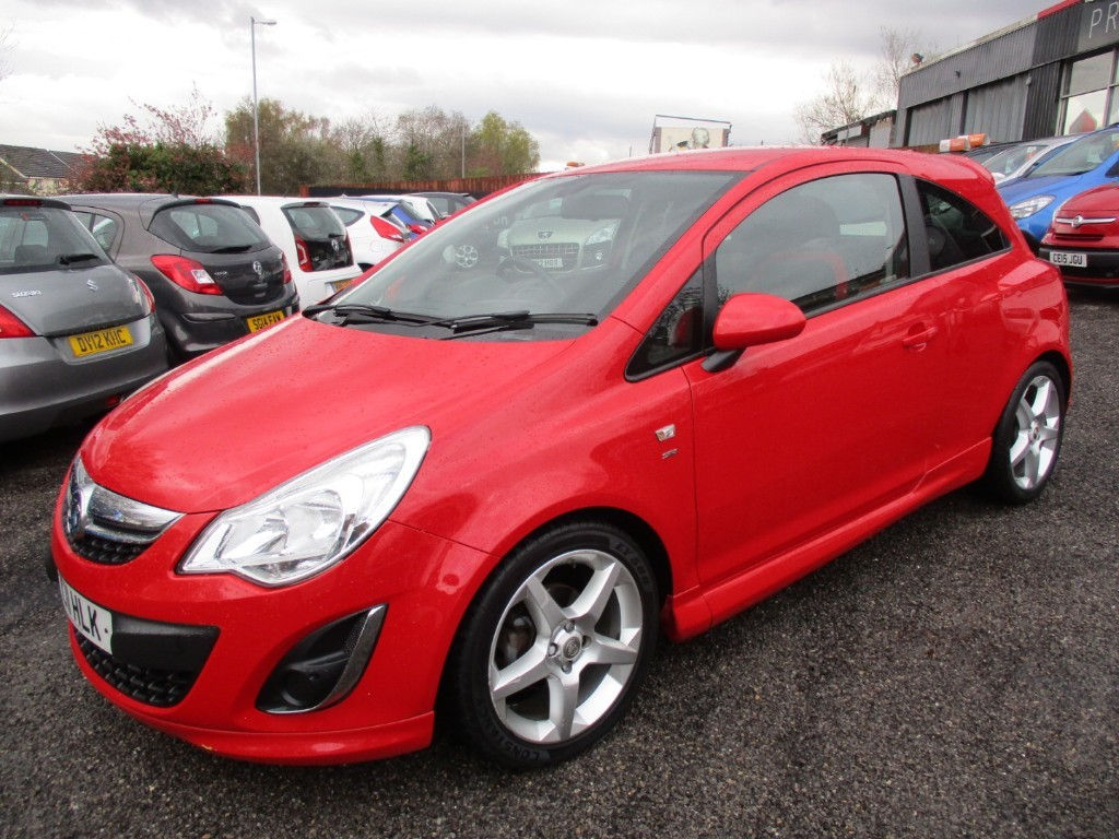 used Vauxhall Corsa SRI in torfaen