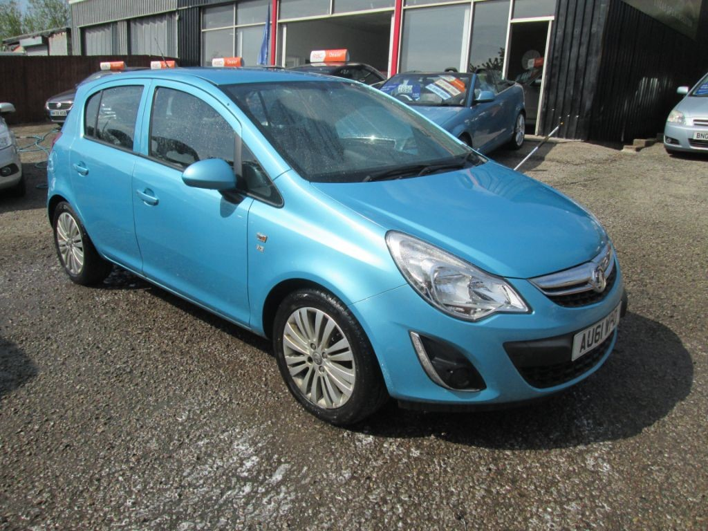 used Vauxhall Corsa EXCITE AC CDTI ECOFLEX in torfaen