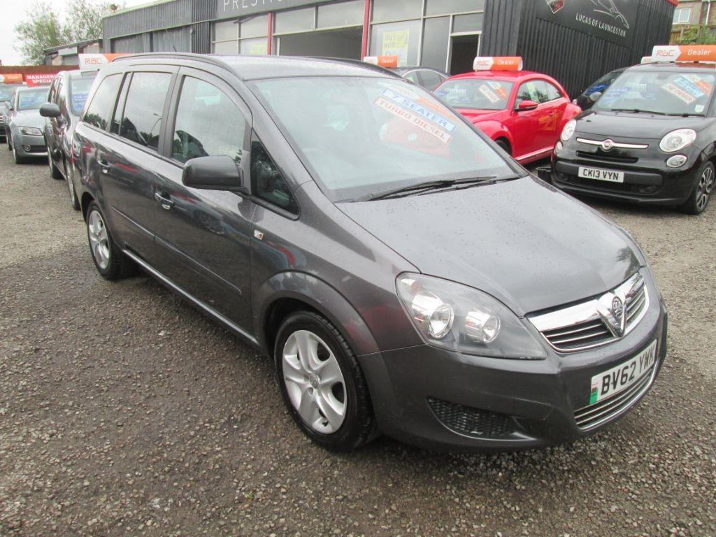 used Vauxhall Zafira EXCLUSIV CDTI in torfaen