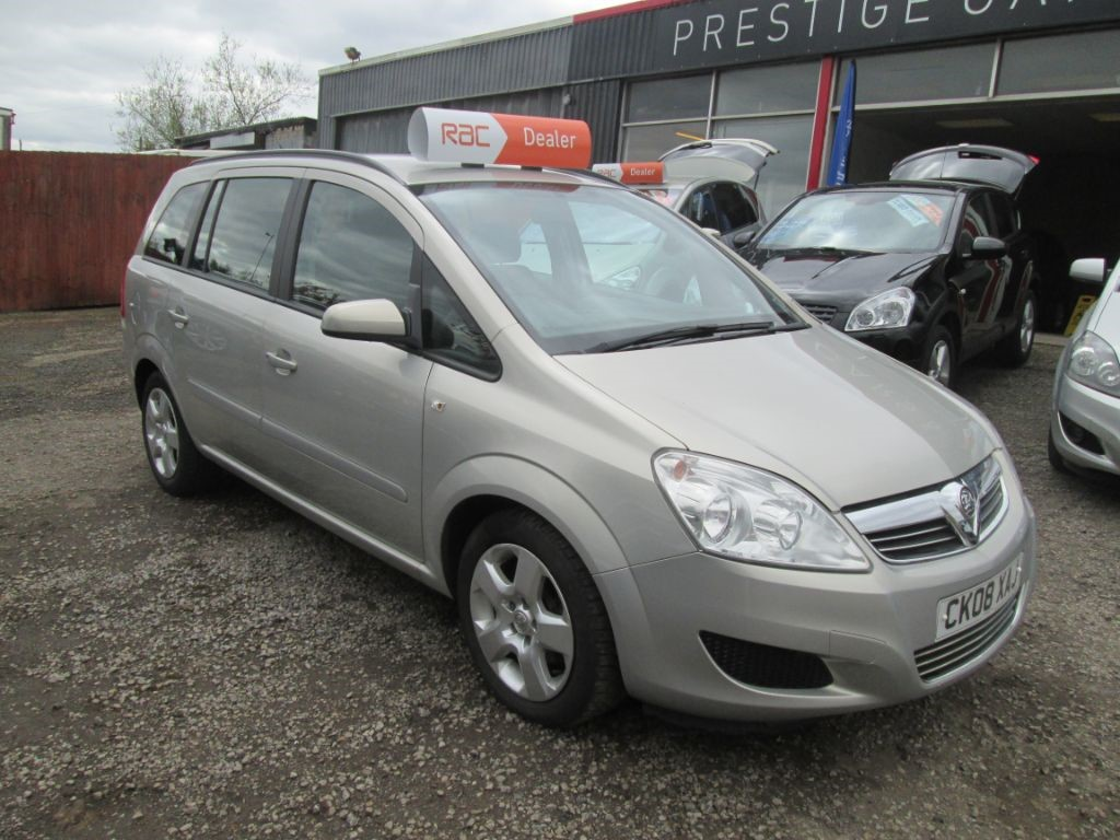 used Vauxhall Zafira EXCLUSIV in torfaen