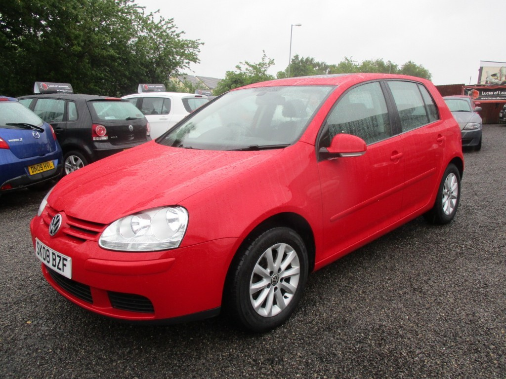 used VW Golf MATCH TDI  105 in torfaen