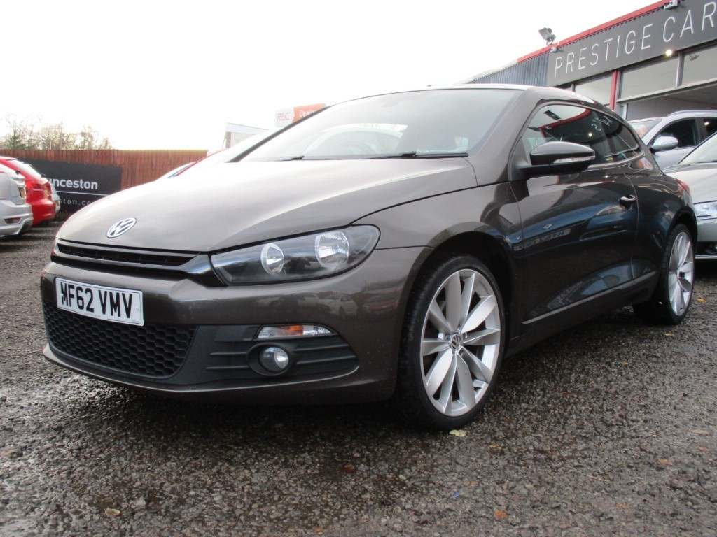 used VW Scirocco GT TDI BLUEMOTION TECHNOLOGY in torfaen