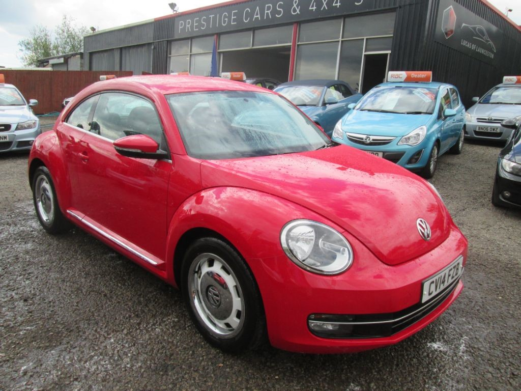 used VW Beetle DESIGN TDI BLUEMOTION TECHNOLOGY in torfaen