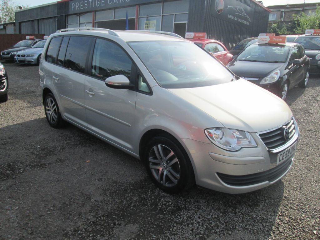 used VW Touran SE TDI in torfaen