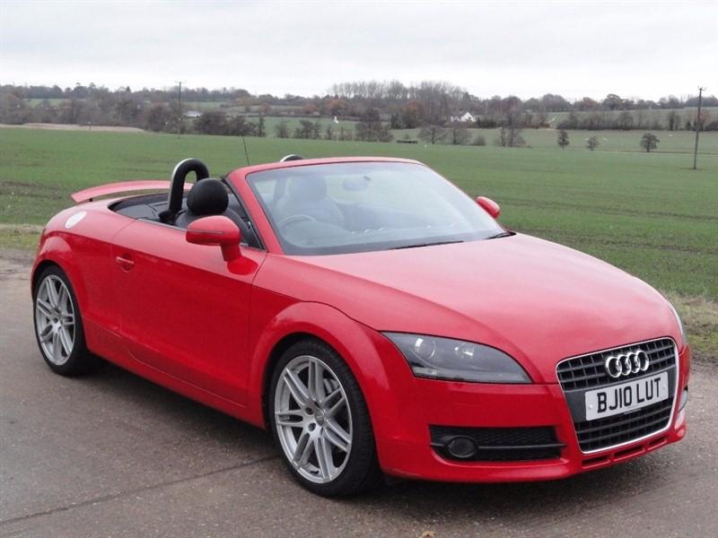 used Audi TT TFSI in chelmsford-essex