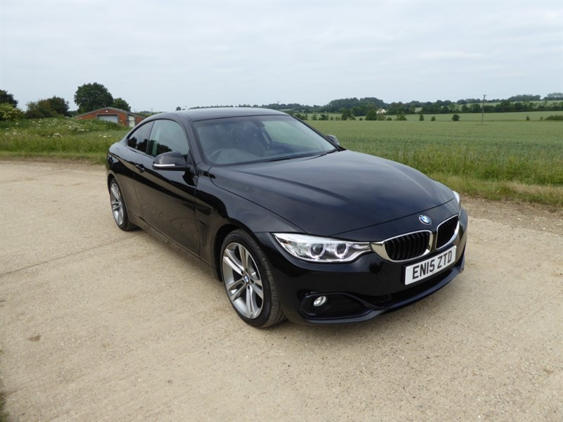 used BMW 420i SPORT in chelmsford-essex