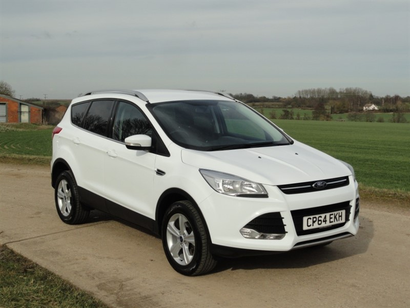 used Ford Kuga ZETEC TDCI 4X4 AWD in chelmsford-essex
