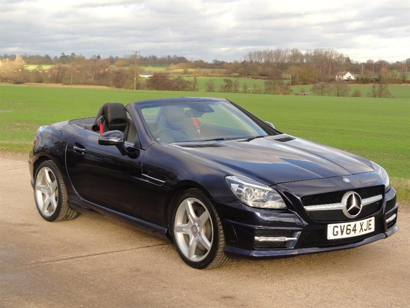 used Mercedes SLK200 AMG Sport 2dr Tip AUTO in chelmsford-essex