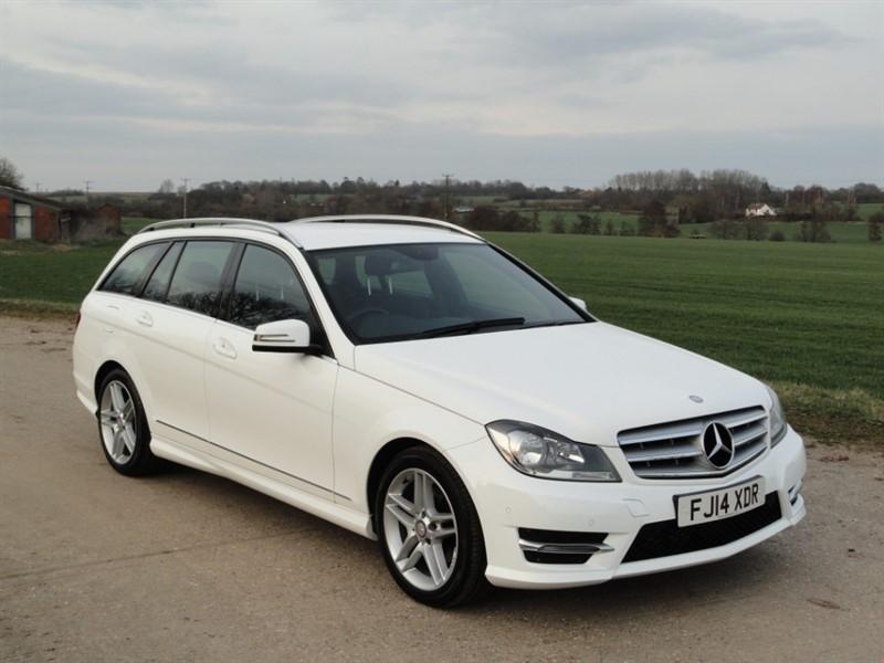 used Mercedes C200 CDI BLUEEFFICIENCY AMG SPORT in chelmsford-essex