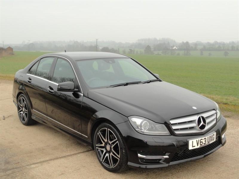 used Mercedes C220 CDI BLUEEFFICIENCY AMG SPORT PLUS in chelmsford-essex