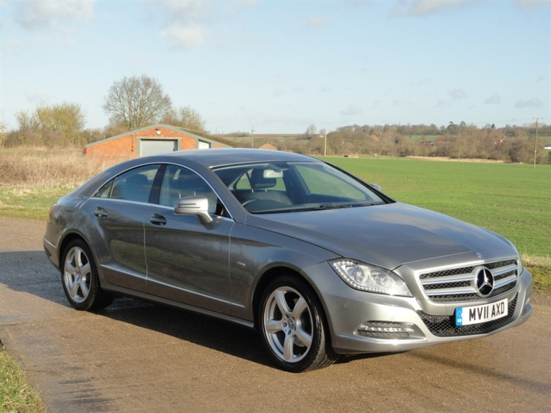 used Mercedes CLS350 CDI CLS350 CDI BLUEEFFICIENCY in chelmsford-essex