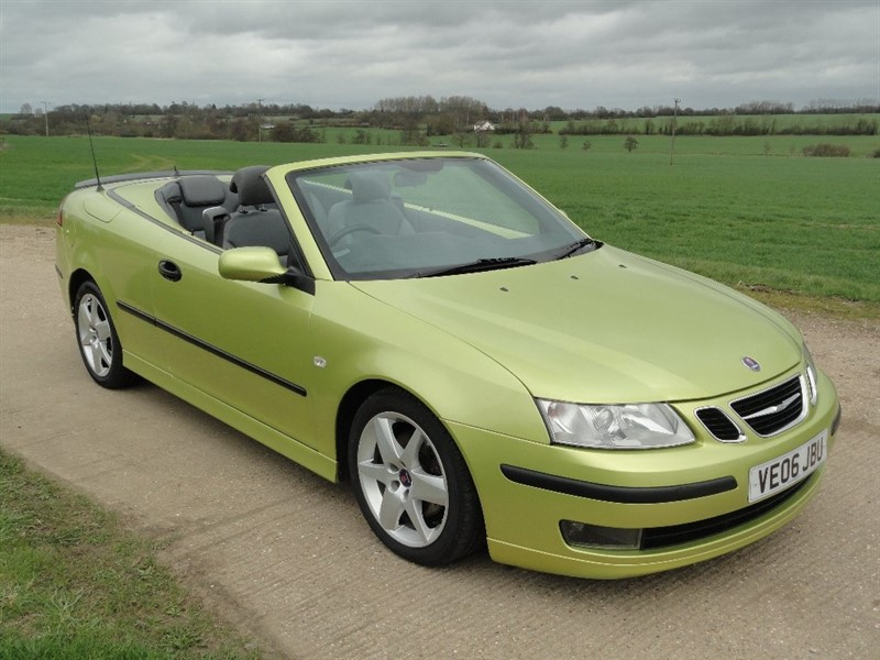 used Saab 9-3 TiD Vector 2dr in chelmsford