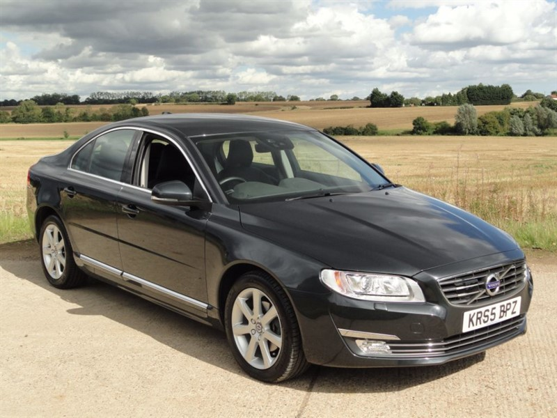 used Volvo S80 D4 SE LUX in chelmsford