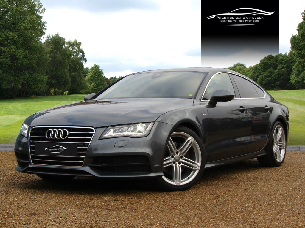 used Audi A7 TDI QUATTRO S LINE in ongar-essex