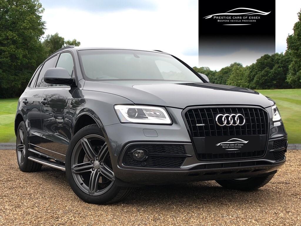used Audi Q5 TDI QUATTRO S LINE PLUS in ongar-essex