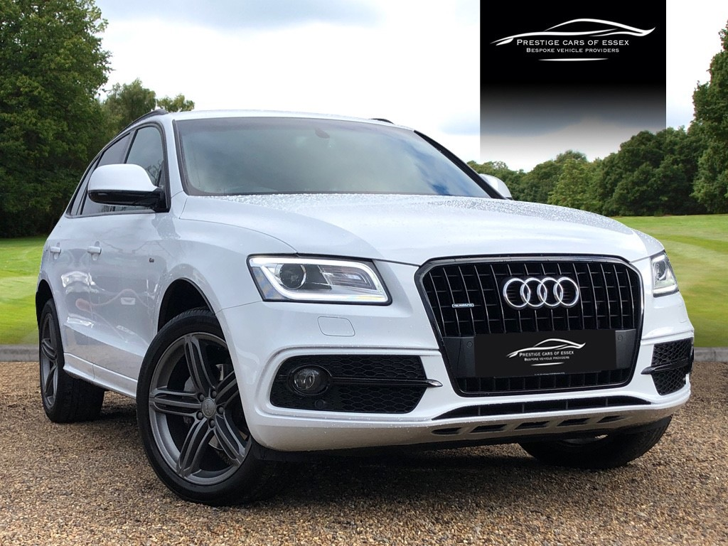 used Audi Q5 TDI QUATTRO S LINE PLUS in ongar-essex