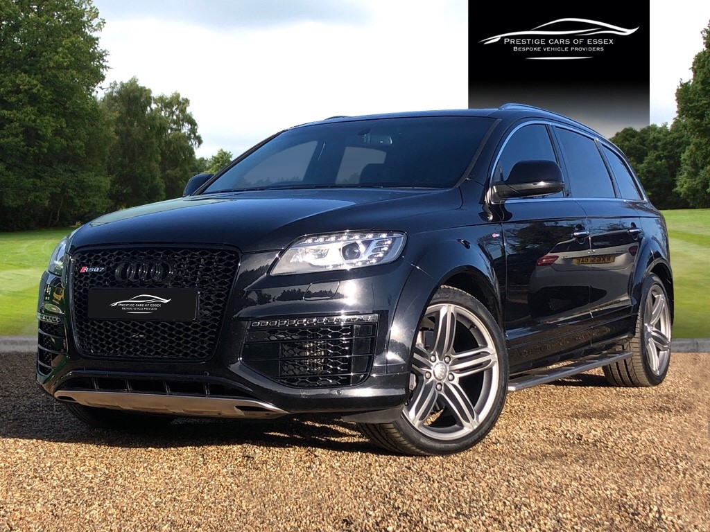 used Audi Q7 TDI QUATTRO S LINE SPORT EDITION in ongar-essex