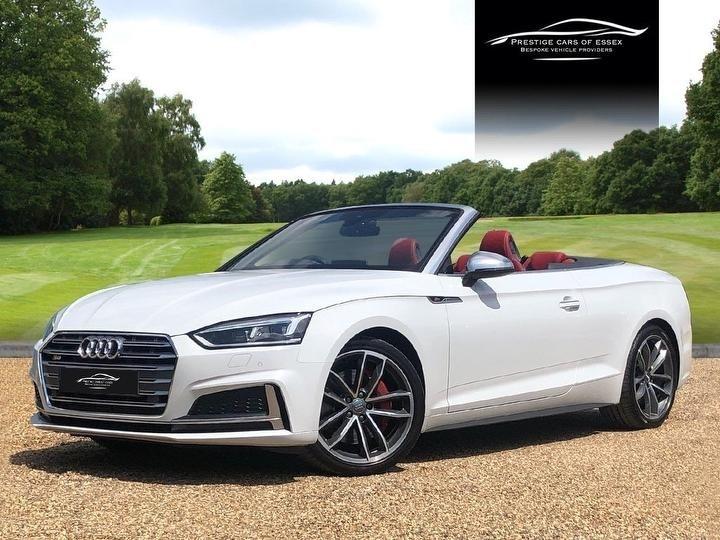 used Audi S5 TFSI QUATTRO in ongar-essex
