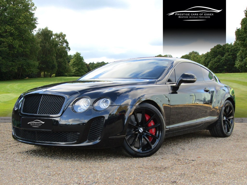 used Bentley Continental SUPERSPORTS in ongar-essex