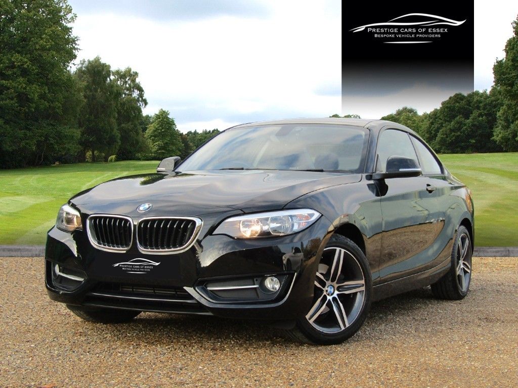 used BMW 218d SPORT in ongar-essex