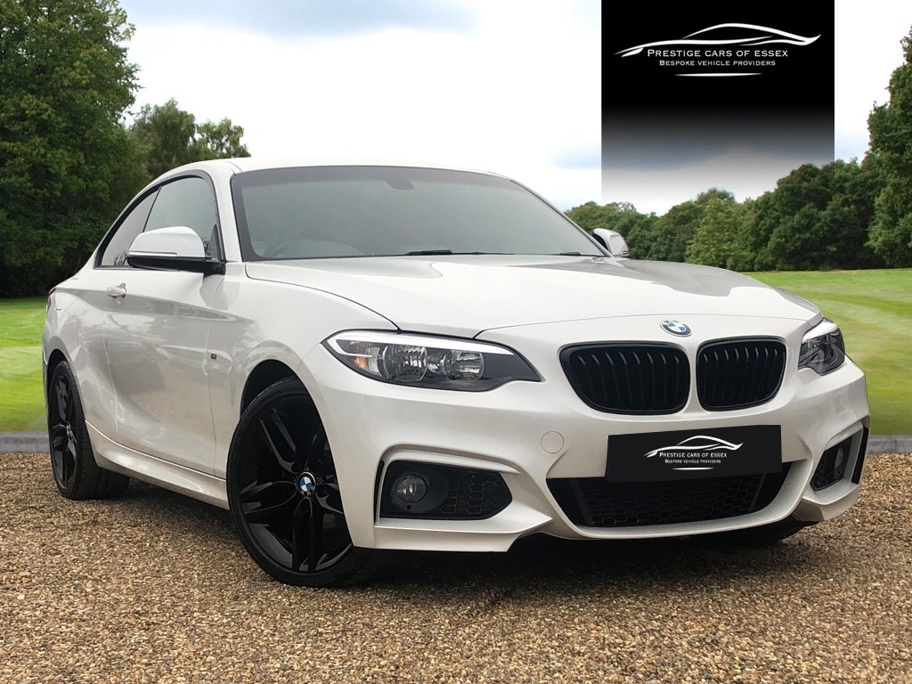 used BMW 218d M SPORT in ongar-essex