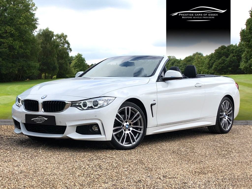 used BMW 420d M Sport Convertible in ongar-essex