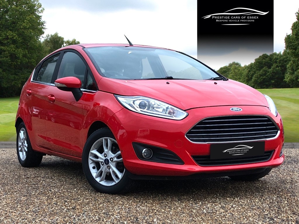 used Ford Fiesta ZETEC in ongar-essex