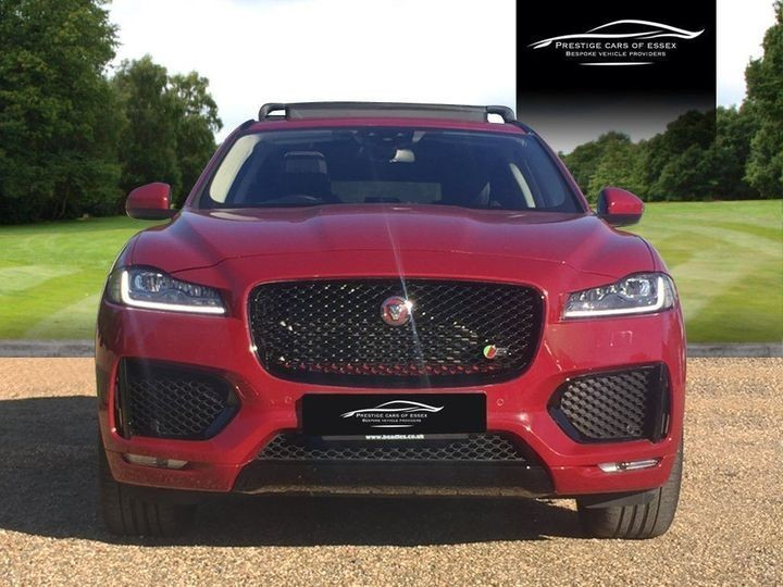 used Jaguar F-Pace V6 S AWD in ongar-essex