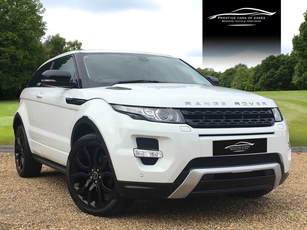 used Land Rover Range Rover EVOQUE SD4 DYNAMIC LUX SD4 DYNAMIC LUX in ongar-essex